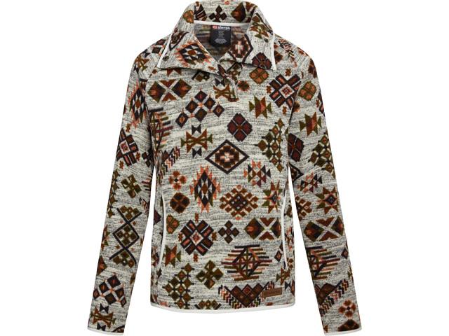 Sherpa Lumbini bluse Damer, beige/brun